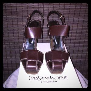 YSL Siena Sandal size 39